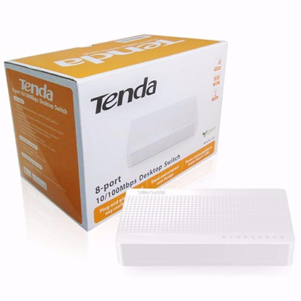 Tenda S108 8x10/100