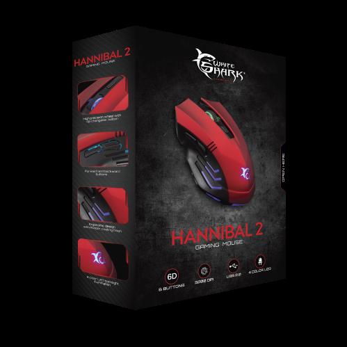 White Shark Hannibal 2 Red