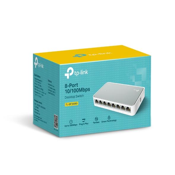 TP-Link TL-SF1008D 8x10/100